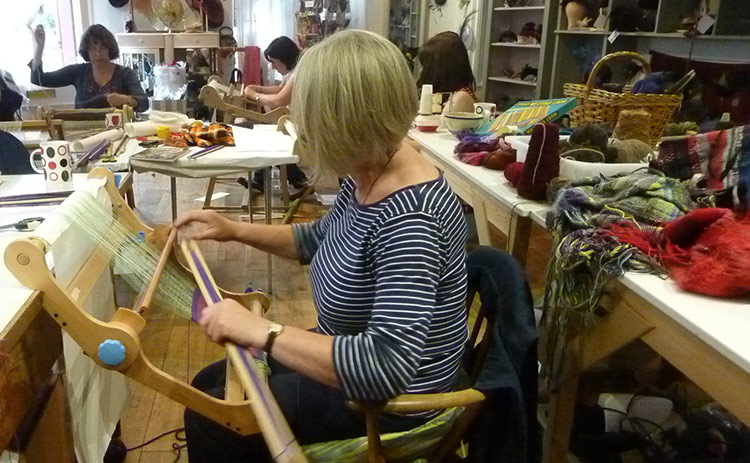 Regular Classes - Debby Sargent Introduction to Weaving