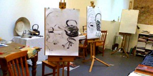 Studio for Drawing and painting workshop