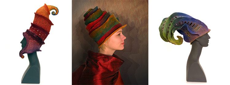 Judit Pocs Felt Hats