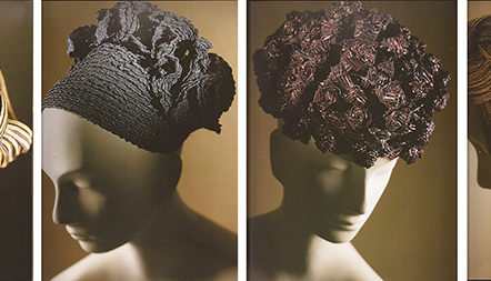 Jane Smith Masterclass - example of Adele List millinery