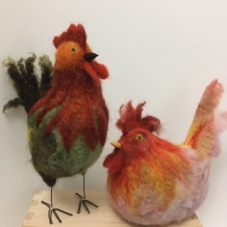 Jennie Loudon Spring Chickens 1